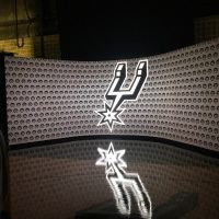 Spurs Shoot 4mm LED wall