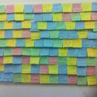 Post It Wall Del Progetto 22Noi La Pensiamo Così22